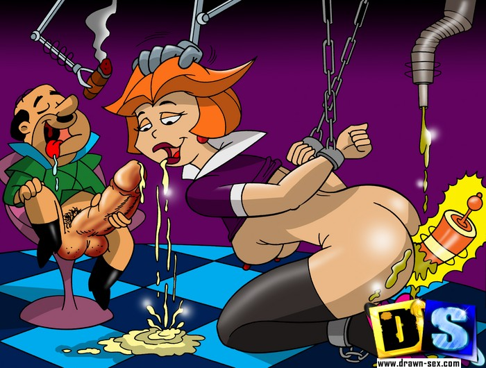 Jetsons porn. Horny Jetsons keep fucking whenever the time allows them!